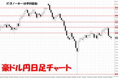 20190209豪ドル円日足チャート