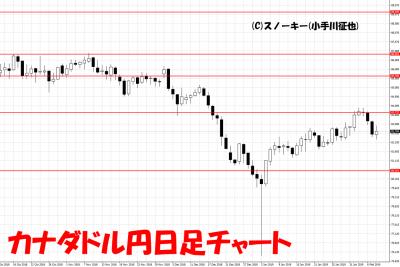 20190209カナダドル円日足チャート