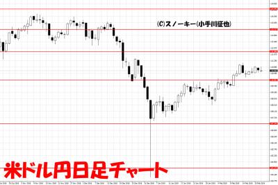 20190223米ドル円日足チャート