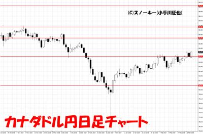 20190223カナダドル円日足チャート