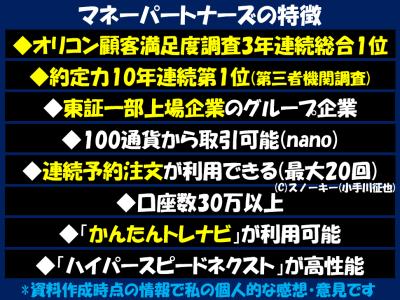 マネーパートナーズ評判2019