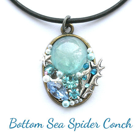 海底の蜘蛛貝・ネックレス