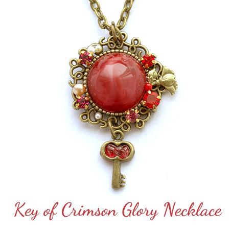 クリムゾン・グローリーの鍵・ネックレス