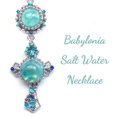 バビロニアの塩水・ネックレス