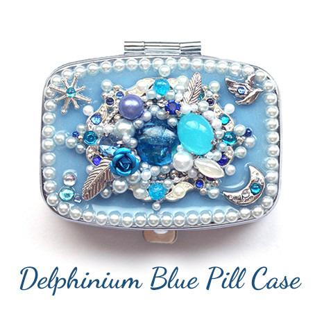 デルフィニウム・ブルー・ピルケース