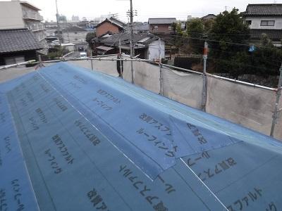 屋根 アスファルトルーフィング
