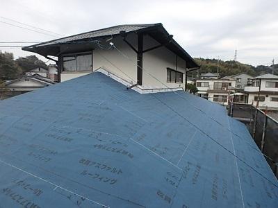 屋根 アスファルトルーフィング2
