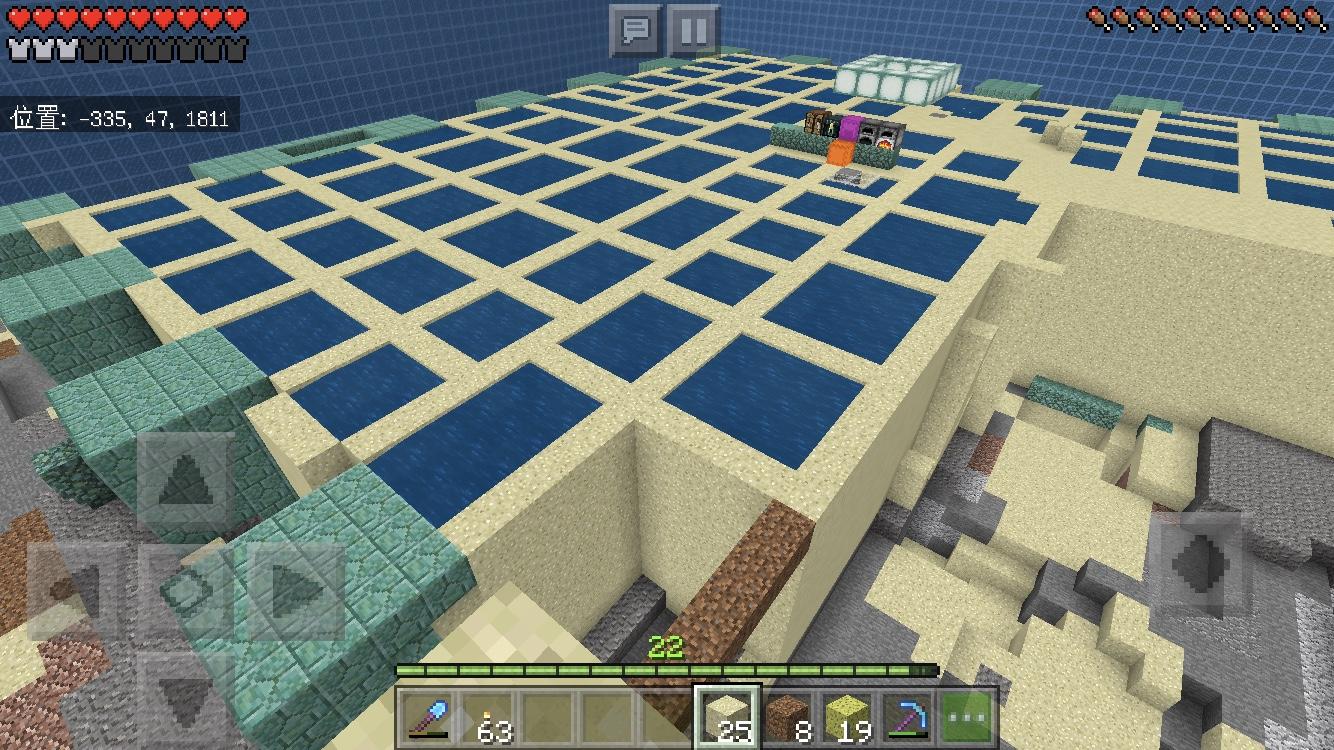 スポンジ マイクラ スポンジがない状況で最もシンプルな水抜きの方法は「砂」【マイクラBE(PE)】#176 :