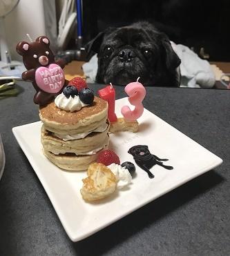 ボクのケーキだ・・・