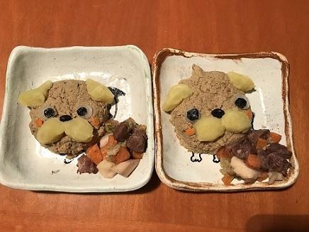 うちの子記念日SPご飯