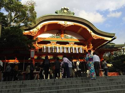 伏見稲荷拝殿20181026~2723070 (6)