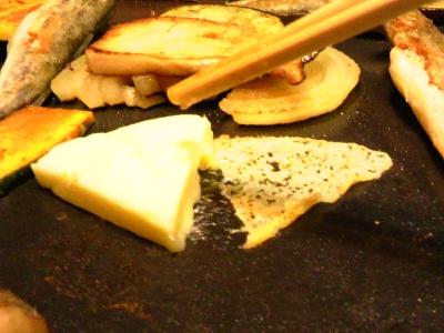 6Pチーズをずらす