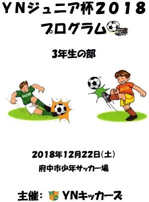 12.22(土)3年、YN招待大会プログラム①