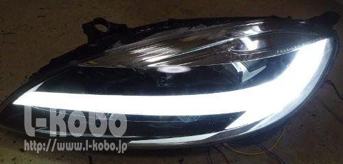 ボルボV40ヘッドライト移植2