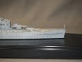 HMSエクセター艦首