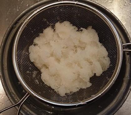 劉虎峰特製大根もちと豆板醤スープの雑煮1