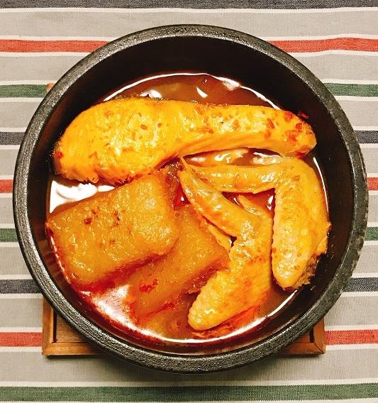 劉虎峰特製大根もちと豆板醤スープの雑煮12
