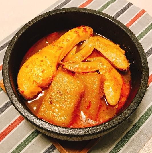 劉虎峰特製大根もちと豆板醤スープの雑煮13