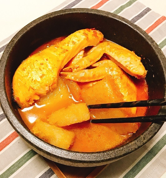 劉虎峰特製大根もちと豆板醤スープの雑煮14