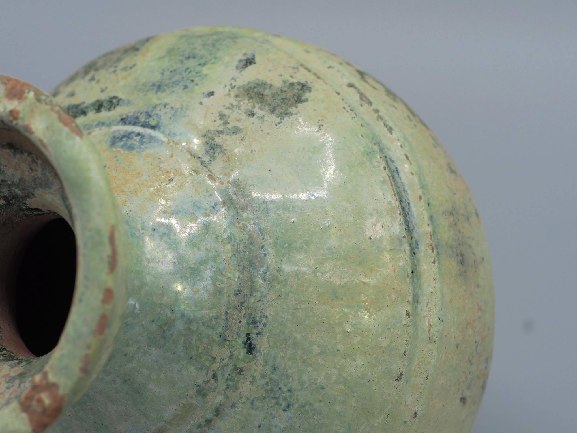 th_緑釉銀化壺10