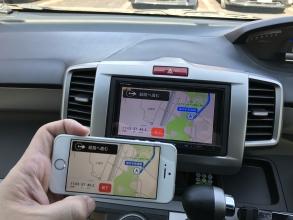 カーナビとスマホ地図アプリをハイブリッドで利用する次世代オペレーション♬