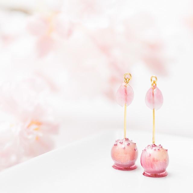 お花見りんご飴_イメージ01
