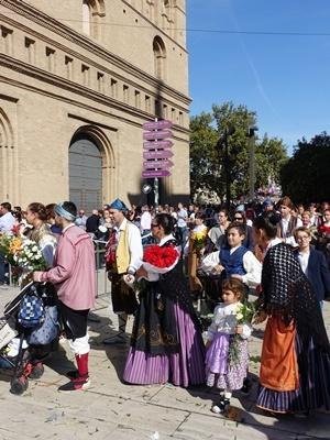 サラゴサピラール祭1810