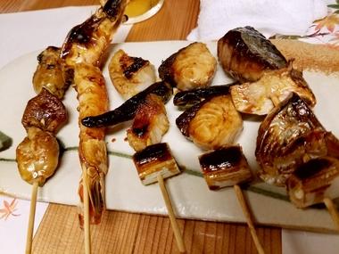 魚串!美味しいよ♪