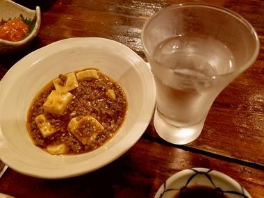 最近どハマリ中 麻婆豆腐♪