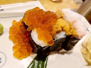 こぼれ寿司♪