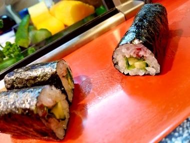 巻き寿司で〆っ!
