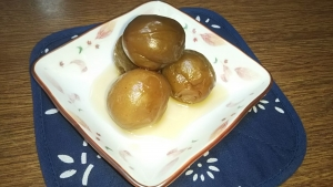 190128砂糖で煮た梅