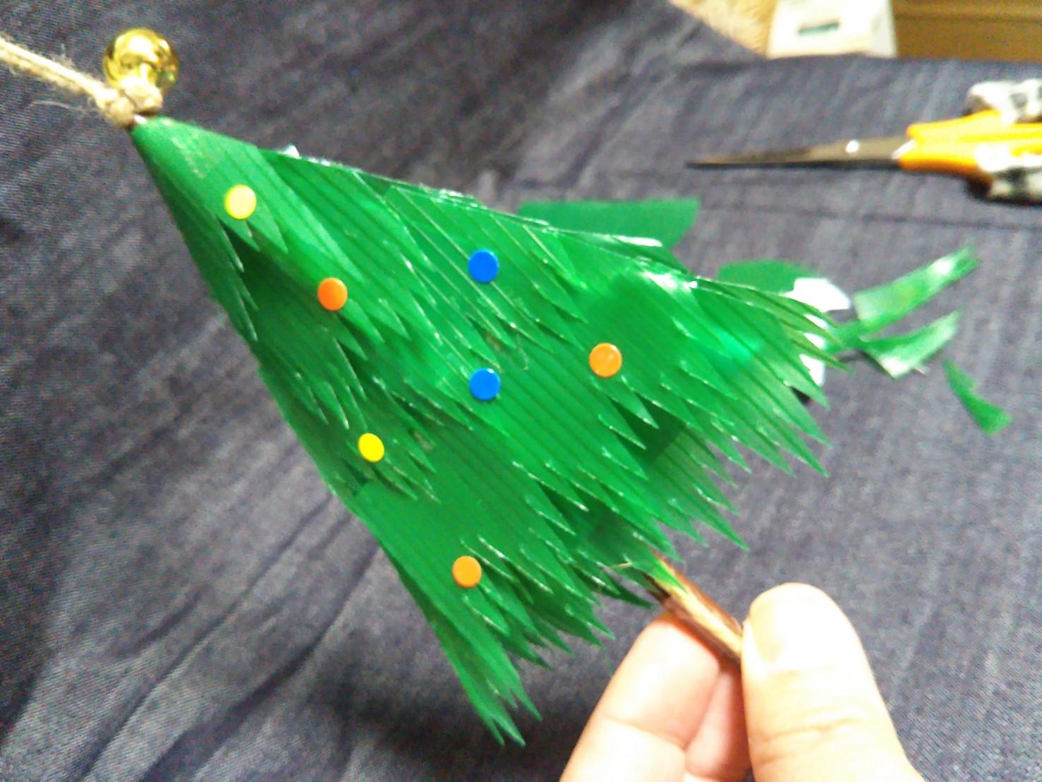 バラン クリスマスツリー 完成