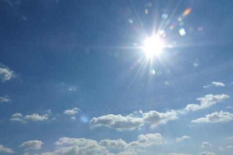 190213 空と太陽