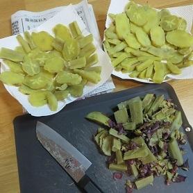 新春、干し芋作り・4
