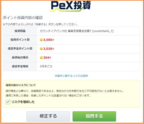 PEX投資