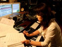 ジャズピアニストEVAのブログ-ハリースタジオ2