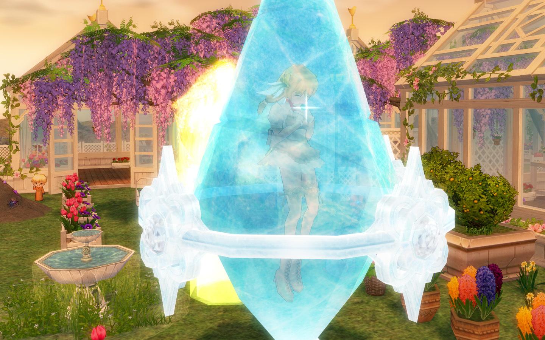 氷のクリスタル3