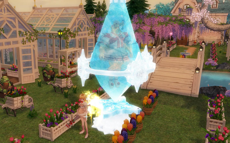 氷のクリスタル4