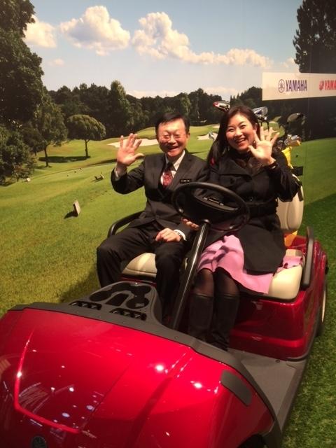 宮崎さんとゴルフ?