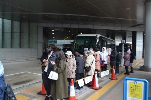 三宮バス停