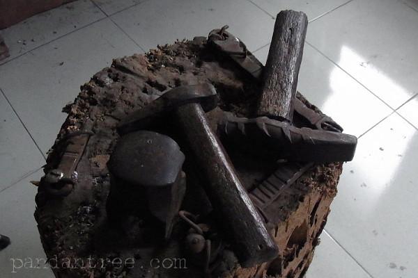 バリ島チュルクのシルバー工房4