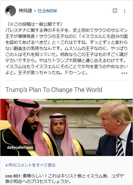 サウジ王子の発言