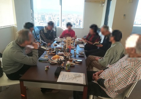 7 山の会の2月集会