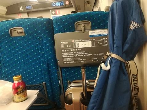 1 新幹線で新大阪~名古屋へ
