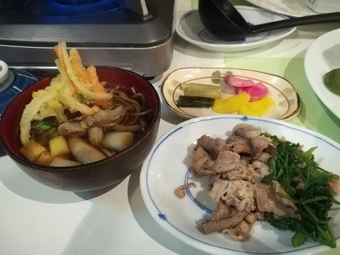 15 夕食の料理