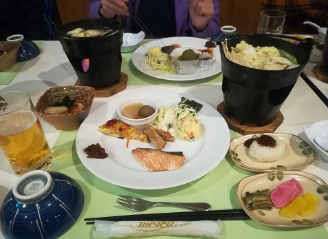 14 夕食の料理