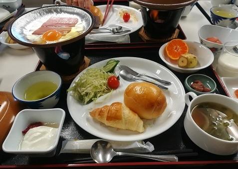 1 朝食 洋食