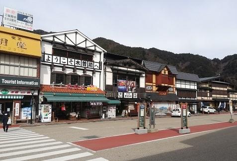 7 木曽福島駅へ到着