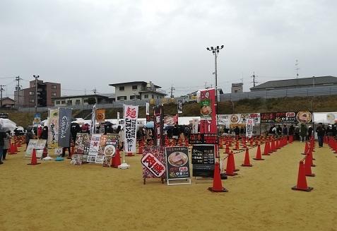 5 ラーメン祭りの広場
